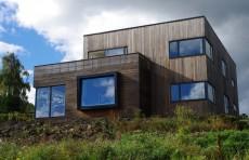 Casa traditionala scandinava renovata pentru a deveni casa pasiva