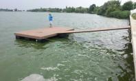 Pontoane plutitoare din lemn compozit romanesc Bencomp Fabricat din faina de lemn si deseuri de mase