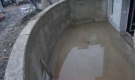 Tratament hidroizolare și reparare structuri din beton existente PENETRON - material hidroizolant integral cristalin aplicat la
