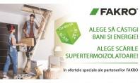 Promoție Fakro Alege să câstigi bani și energie Această promoție face parte dintr-o campanie internațională Fakro