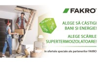 Promoție Fakro: Alege să câstigi bani și energie