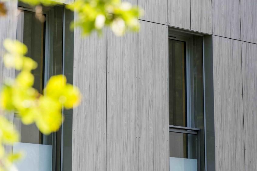 Panouri HPL cu feţe decorative - soluţii estetice şi durabile pentru placările exterioare