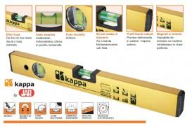 Nivele KAPPA cu sau fără magnet pentru o zi de lucru mai scurtă