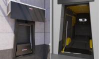Sistem de andocare pentru depozite logistice de curierat • Rampa de egalizare Van Bridge Plate •
