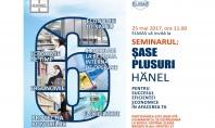 "Elmas va invita la seminarul ""SASE PLUSURI HÄNEL"" In calitate de dealer Hänel in Romania compania"