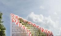 O clădire ca o oază de verdeață va fi ridicată în inima unei capitale europene Cladirea