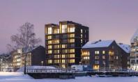 A fost construită cea mai înaltă clădire din lemn din Suedia Construita in orasul Västerås situat