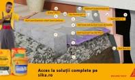 Termo și hidroizolarea unui perete la soclu și racord cu trotuarul – soluţie tehnică Pietriș Folie