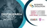 Business rEvolution Antreprenorii vor să afle cum contribuie digitalizarea la dezvoltarea afacerilor Evenimentele Business rEvolution au