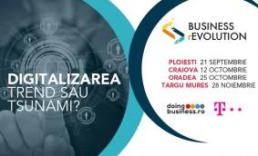 Business rEvolution: Antreprenorii vor să afle cum contribuie digitalizarea la dezvoltarea afacerilor