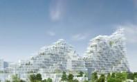 """Acest """"sat vertical"""" din lemn va fi construit în Paris Numit """"Village Vertical"""" proiectul a fost"""