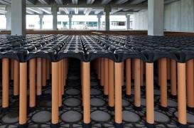 Cofrajele New Elevetor, folosite pentru extinderea unui depozit frigorific din Italia