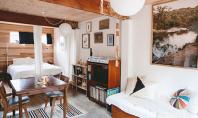 O locuinta minimala dar confortabila amenajata intr-un vechi garaj Locuinta lui Alex este moderna luminoasa si