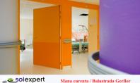 Sistemele de protectie pereti si balustrade Gerflor - solutia ideala pentru spitale si spatii publice Sistemele