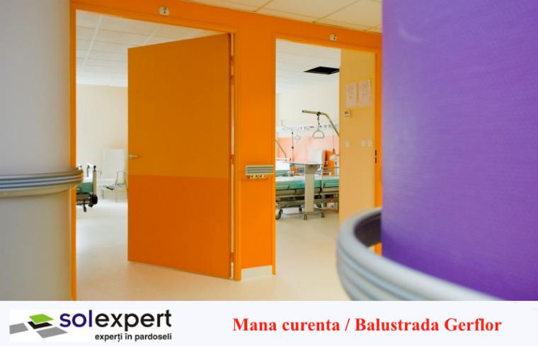 Sistemele de protectie pereti si balustrade Gerflor - solutia ideala pentru spitale si spatii publice