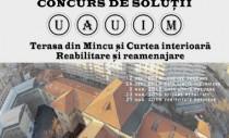 Concurs de solutii – TERASA SI CURTEA INTERIOARA A UAUIM – Reabilitare si Reamenajare 2014