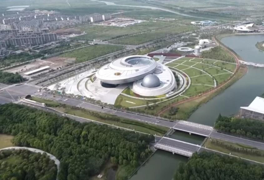 Cel mai mare muzeu de astronomie din lume evocă geometria universului