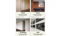 Peretii mobili - solutia perfecta pentru compartimentari temporare Peretii mobili integrati de Wallrite ofera o perspectiva