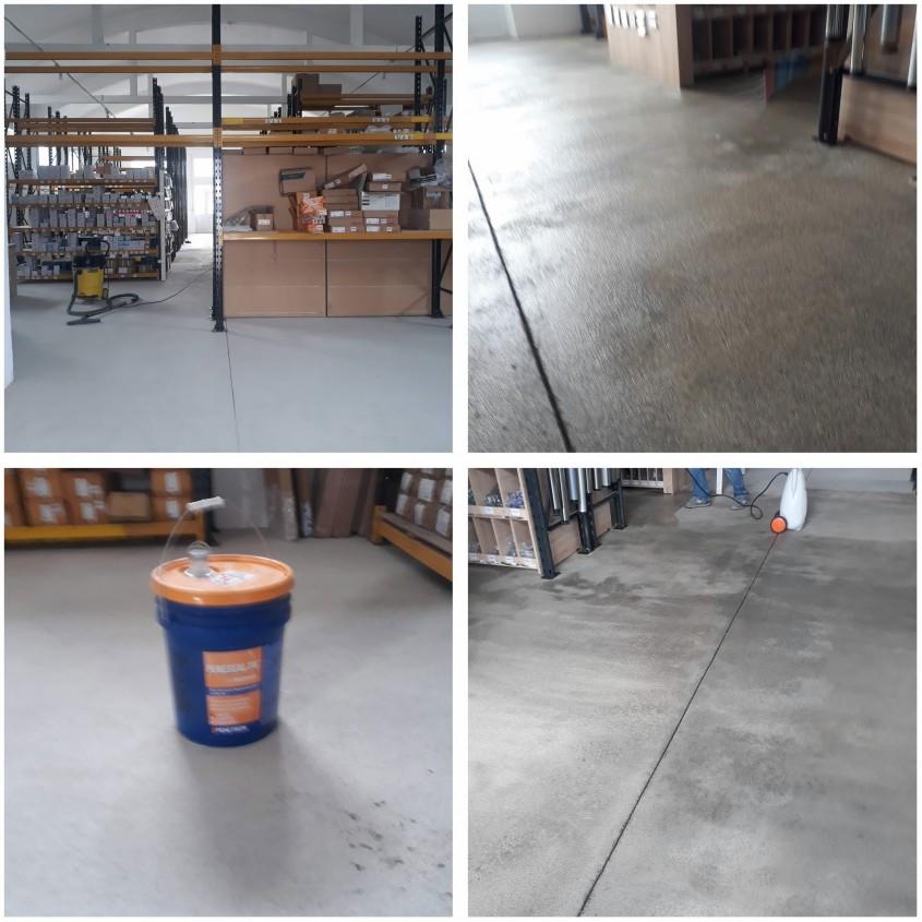 Tratament pardoseala din beton durificare