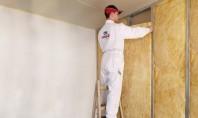 Montarea izolației termice la pereții de compartimentare Aflați cum se montează corect vata de sticlă URSA