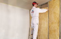 Montarea izolației termice la pereții de compartimentare