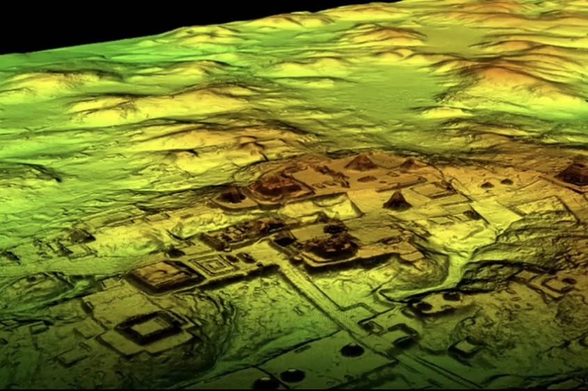 Tehnologia cu laser a dezvăluit mărimea surprinzătoare a orașelor mayașe