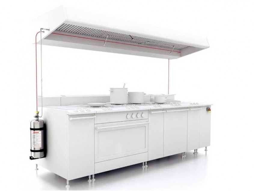 sistem antiincendiu - FireDETECT - Sisteme antiincendiu pentru bucătării comerciale
