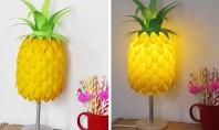Cum să faci o lampă în formă de ananas Iata cat de usor poti face si