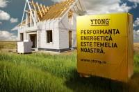 Performanța energetică asigurată de YTONG