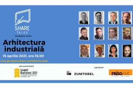 Arhitectura Industrială în dezbatere la SHARE Talk, joi, 15 aprilie