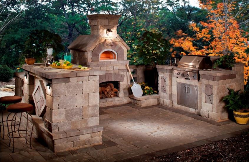 Tendinte: bucataria in aer liber