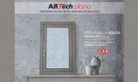 ARTech Plana - feroneria ce transforma fereastra intr-un element de decor ARTech Plana permite ca elementele