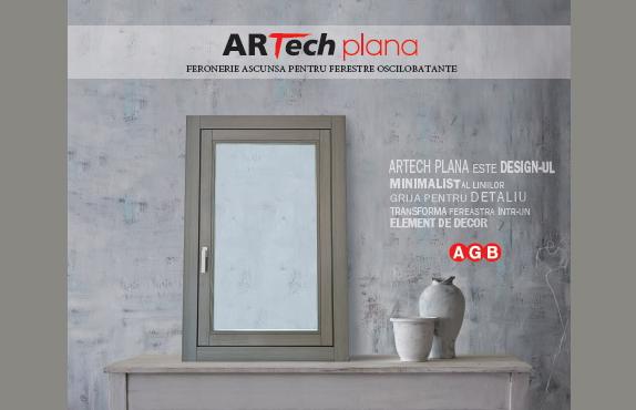ARTech Plana - feroneria ce transforma fereastra intr-un element de decor