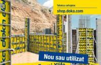 Accesorii utilizate şi pachete de cofrare Doka la preţuri speciale online