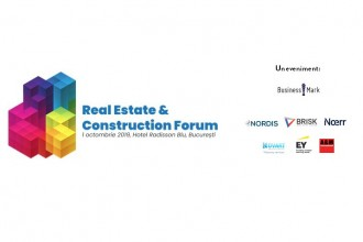 Real Estate & Construction Forum are loc pe 1 octombrie