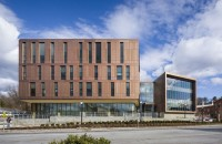 Cea mai mare clădire pe structura din lemn lamelar, simbol al durabilității