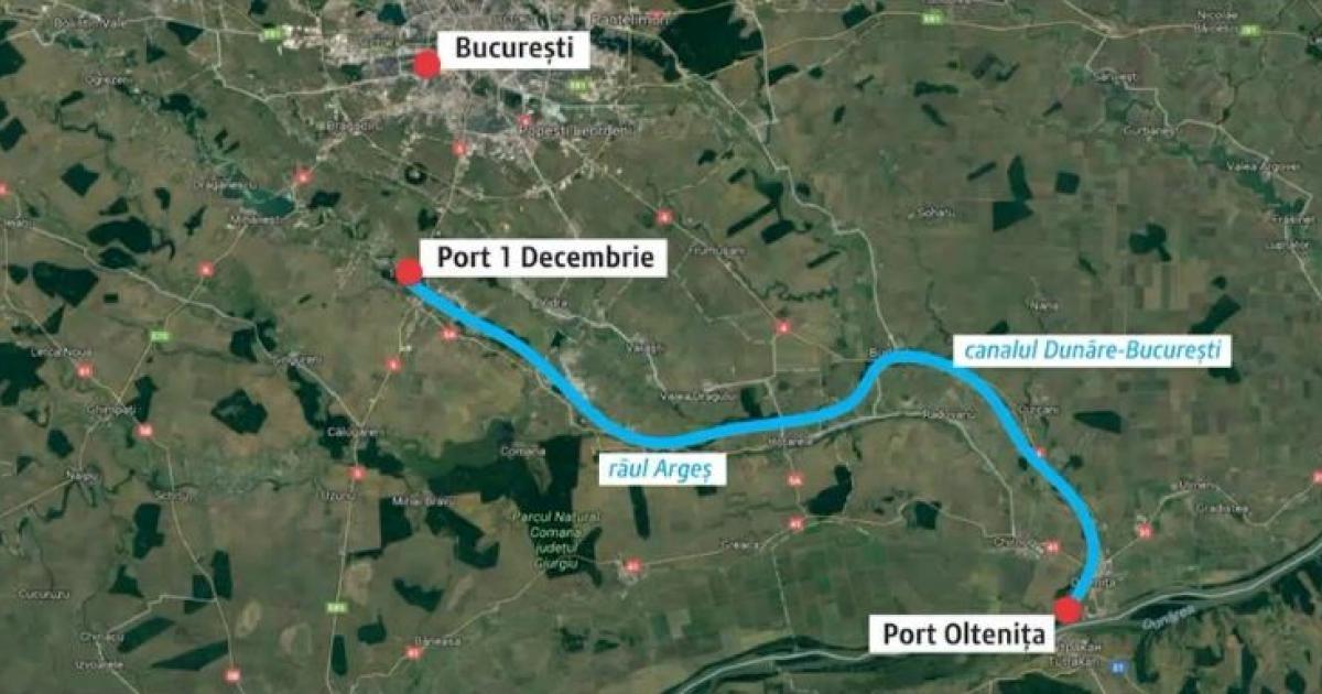 Proiectul canalului Dunare - București, început în 1986, va fi reluat. Bucureștenii ar putea merge în croazieră până la Viena
