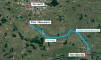 Proiectul canalului Dunare - București început în 1986 va fi reluat Bucureștenii ar putea merge în