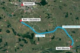 Proiectul canalului Dunare - București, început în 1986, va fi reluat. Bucureștenii ar