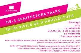 Intalnirile de-a arhitectura talks