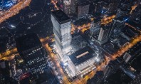 O impozantă clădire inspirată după Coloana Infinitului construită în Shanghai Numit Gubei Soho proiectul in valoare
