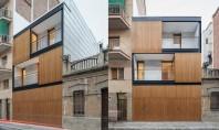 O casa ingramadita intre alte constructii poate fi frumoasa Echipa de la biroul de proiectare spaniol