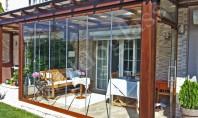 Sisteme din sticlă pentru închiderea teraselor Sistemele din sticlă pentru închiderea teraselor permit utilizarea spațiului pe