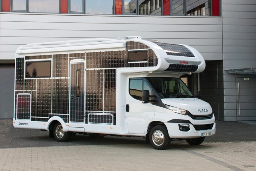 Noua autorulotă electrică ce va funcționa cu ajutorul panourilor solare