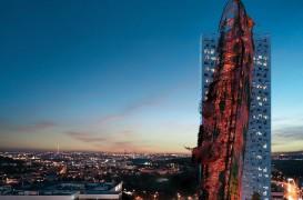 Un zgârie-nori ca un tanc petrolier eșuat ar putea fi cea mai înaltă clădire din Praga