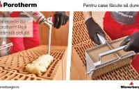 Principalele avantaje ale zidăriei cu spuma adezivă Porotherm Profi Dryfix
