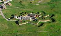 Cetatea Vardohus - cea mai nordica cetate din lume Vardøhus este cea mai nordica cetate din