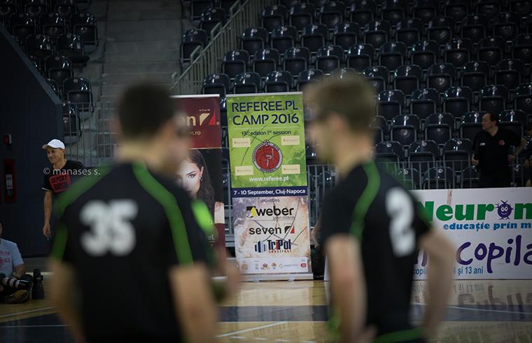 Weber a sponsorizat camp-ul de arbitri de la Cluj Napoca