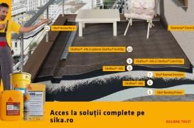 Balcon finisat cu Sika® Balcony  – soluţie tehnică