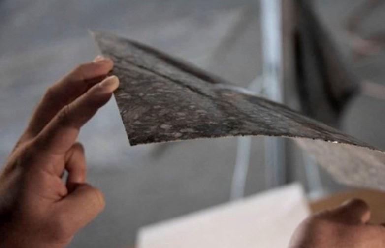Patru idei de proiecte do-it-yourself cu foi de ardezie flexibila